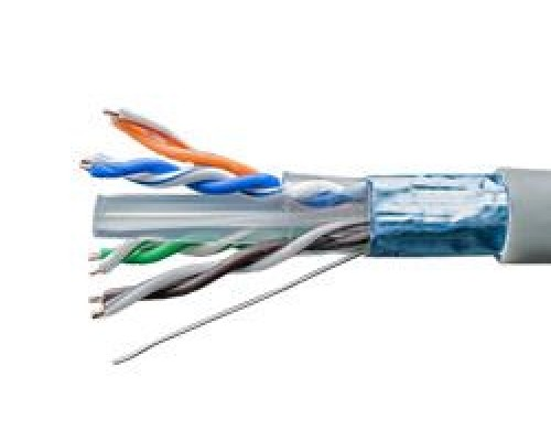F/UTP4-C6-SIX-LSZH-INDOOR-305, 4x2xAWG23, CU (01-1017)