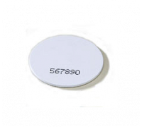 Диск белый, ПВХ пластик, D25, Mifare1K