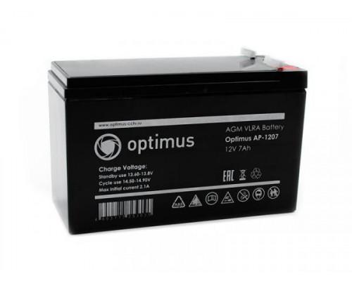 Аккумуляторная батарея Optimus AP-1207
