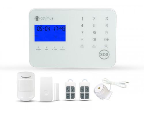 Беспроводная GSM сигнализация Optimus AG-200 (комплект) v2
