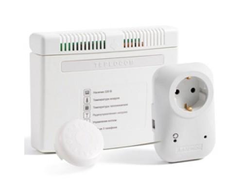 Teplocom GSM ProТеплоинформатор с радио управляемой розеткой.УМНАЯ КОТЕЛЬНАЯ