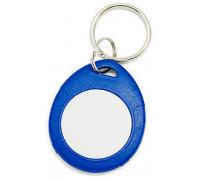 Брелок EM, IL-07EBW, с кольцом, синий + белый