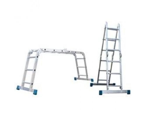 Лестница алюминиевая шарнирная (T455)