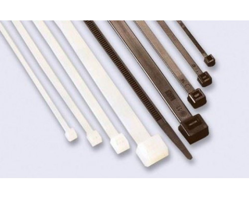 Хомут-стяжка кабельная нейлоновая 1020x9,0 мм, белая (уп 100 шт) (07-1020)
